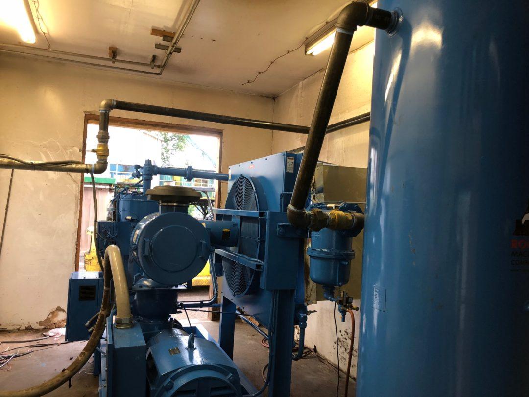 Columbia Vista Air Compressor Install